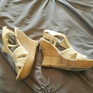 Audrey  Brooke's Crocheted wedges